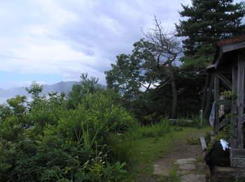 姨捨山子檀嶺岳山頂よりP7280053.JPG